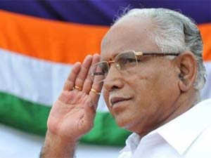 Karnataka Chief Minister B S Yeddyurappa
