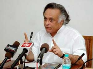 Environment Minister Jairam Ramesh