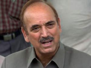 Union Minister Ghulam Nabi Azad