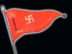 Rashtriya Swayamsevak Sangh flag