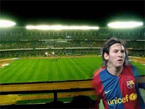 Messi to play at Salt Lake Stadium