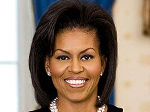 America's chic First Lady Michelle Obama