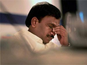 Former telecom minister and key accused of 2G spectrum scam A Raja