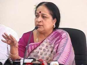 Committee chairperson Jayanthi Natarajan