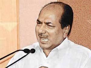 Defence Minister AK Antony