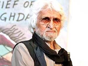 Indian painter Maqbool Fida Husain