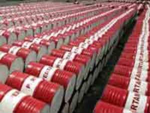 Oil barrels