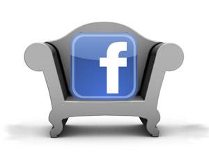 Sofa and Facebook logo