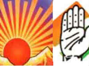 Congress-DMK logo