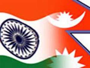 India-Nepal Flag