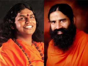 Nithyananda and Baba Ramdev