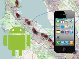 Android & iPhone data collection