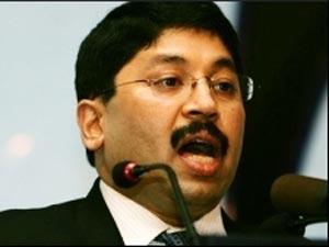 Former Telecom Minister Dayanidhi Maran