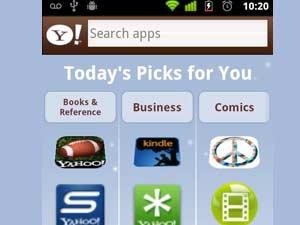 Yahoo App Search