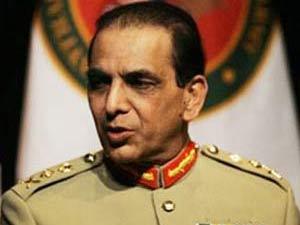 Pakistan army Gen Ashfaq Parvez Kayani