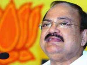 Senior BJP leader M Venkaiah Naidu