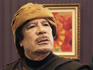 NATO will not win, says Gaddafi