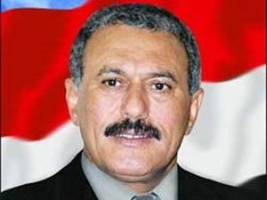 Embattled Yemeni President Ali Abdullah Saleh