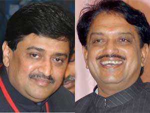Ashok Chavan and Vilasrao Deshmukh