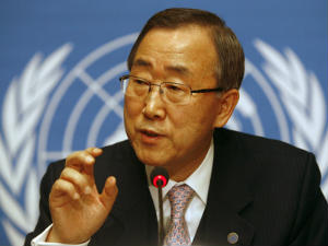 Ban Ki-moon, United Nations chief