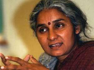 Social activist Medha Patkar