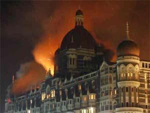 Terrorists attacks on Mumbai Taj Hotel