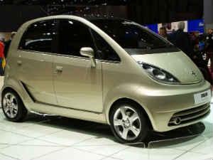 Tata Motors' low cost carNano car