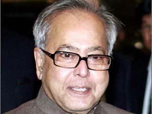 Finance Minister Pranab Mukherjee