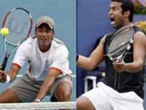 Veterans Leander Paes and Mahesh Bhupathi