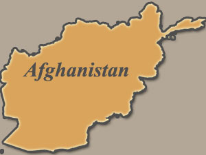 Afghanisatn map