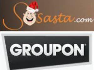 Sosasta Groupon logos