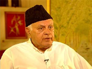 Union Minister and National Conference leader Farooq Abdullah