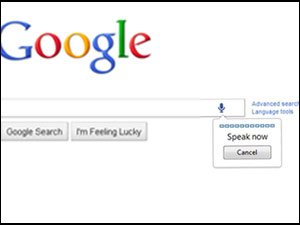 Google Voice Search screenshot
