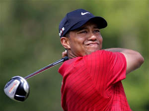 US golf star Tiger Woods