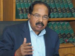 Union Law Minister Veerappa Moily