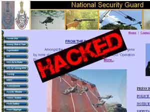 NSG website hacked
