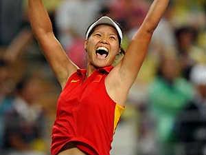 Chinese tennis star Li Na