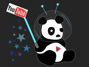 YouTube Cosmic Panda project