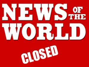 News of the World - closed