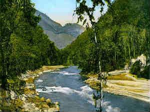Cho-Lhamu river