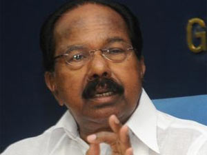 Law Minister M Veerappa Moily