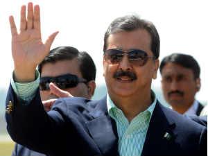 Pakistan premier Yousuf Raza Gilani