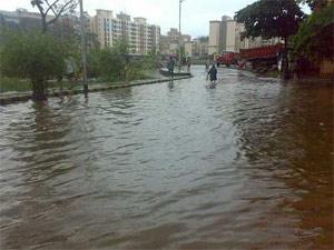 Heavy rains in Mumbai