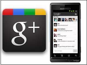 Google Plus on mobile