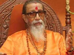Shiv Sena supremo Balasaheb Thackeray