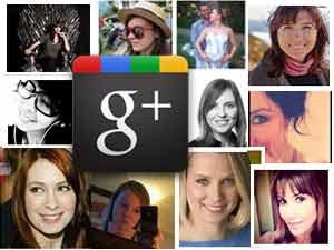 Google Plus female users