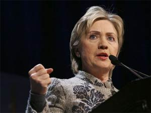 Hillary in India for strategic dialogue