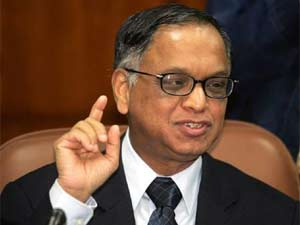 Chairman and Founder Mentor of Infosys, N R Narayan Murthy