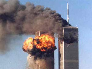 September 11 terrorist attacks on Twin tower in USA