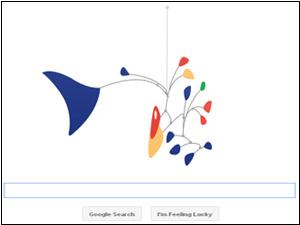 Doodle for Alexander Calder